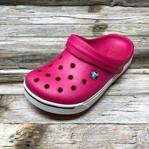 Crocs Kids' Classic Clog Hot Pink Girls J2